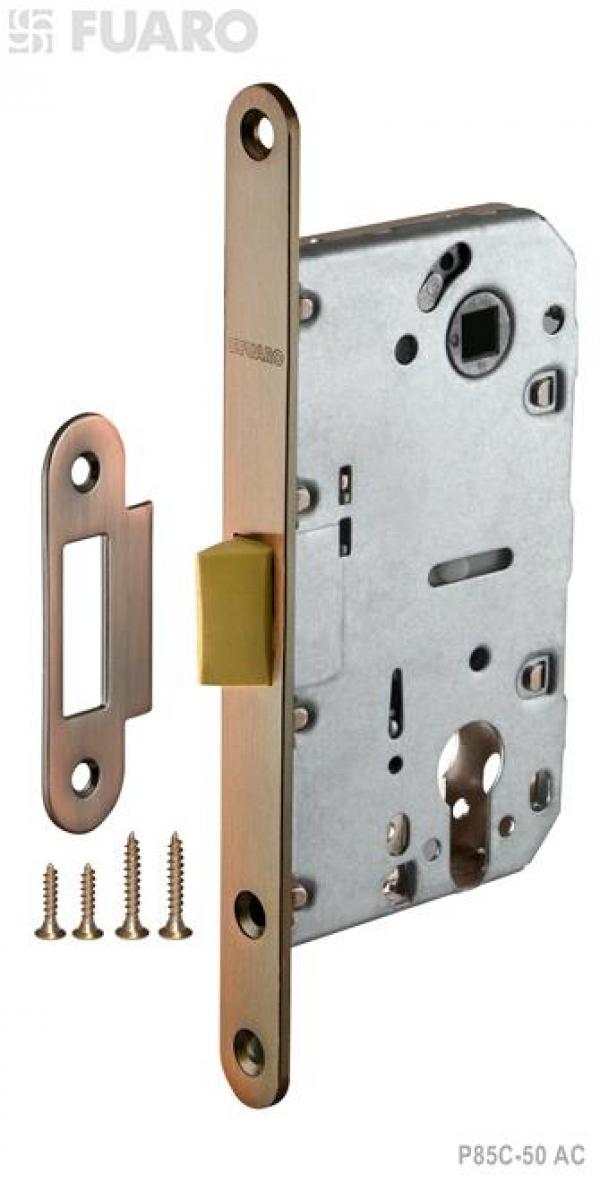Корпус замка PLASTIC P85C-50 AC медь с пластиковым язычком