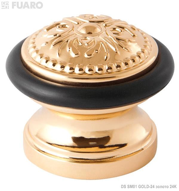 Упор дверной DS SM01 GOLD-24 золото 24K