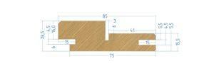Коробка телескопическая стандарт 1